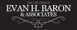 The Law Firm of Evan H. Baron & Associates Logo