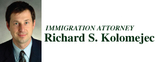 365404-Immigration Attorney Richard S Kolomejec Logo