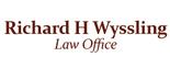 Richard H Wyssling Law Office Logo