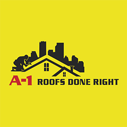 A-1 Roofs Done Right Logo