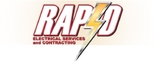 Rapid Electrical Services and Contracting Logo