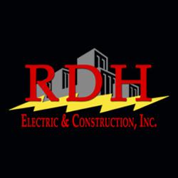 RDH Electric & Construction Inc. Logo
