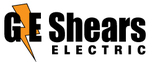 G E Shears Electric Logo