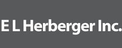 E L Herberger Inc. Logo