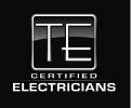 TE Certified Electrician Logo