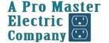 A Pro Master Electric Company Logo
