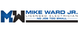 Mike Ward Jr Electrician Logo