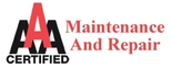 AAA Certified Maintenance and Repair Logo