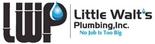 Little Walt's Plumbing Logo