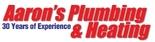 Aaron's Plumbing & Heating Logo