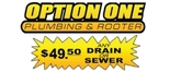Option One Plumbing and Rooter - AZ Logo