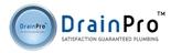 DrainPro Plumbing Logo