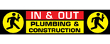 In & Out Plumbing & Construction Logo
