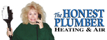 The Honest Plumber Heating & Air Logo