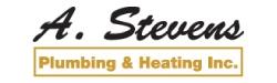A. Stevens Plumbing & Heating Inc. Logo