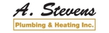 A. Stevens Plumbing & Heating Inc. Logo