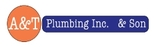 A & T Plumbing Inc. & Son Logo