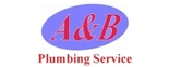 A & B Plumbing Service Logo