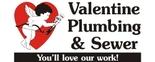 Valentine Plumbing & Sewer Logo