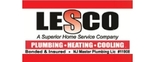 Lesco Plumbing, Heating, and Cooling Logo