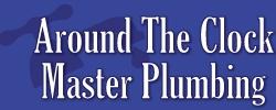 Around The Clock Master Plumbing Logo