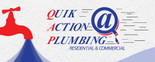 Quik Action Plumbing Logo