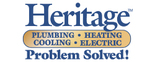 Heritage Plumbing, Heating, Cooling, Electric Logo