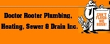 Doctor Rooter Plumbing Sewer & Drain Service Logo