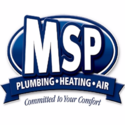MSP Plumbing Heating Air Logo