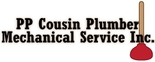 PP Cousin Plumber Mechanical Service Inc. Logo