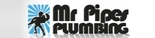 Mr. Pipes Plumbing Logo