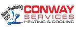 Conway Services Heating, Cooling & Plumbing Logo