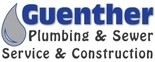 Guenther Plumbing & Sewer Service & Construction Logo