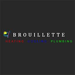 Brouillette Heating Cooling & Plumbing Logo
