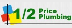 1/2 Price Plumbing Logo