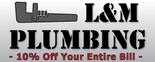 L&M Plumbing Logo