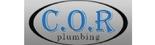 C.O.R Plumbing Logo