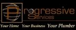 Progressive Services Plumbing Service Logo