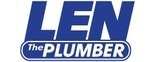 Len The Plumber - Montgomery and Prince George Logo
