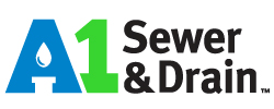 A-1 Sewer & Drain Plumbing and Heating Logo