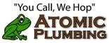 Atomic Plumbing Logo