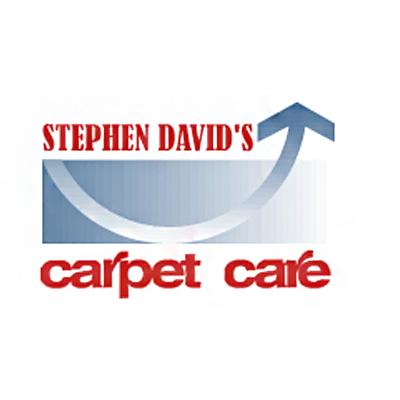 Carpet Care by Stephen David Logo
