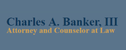 Charles A. Banker III Attorney At Law Logo