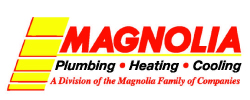 Magnolia plumbing, heating, cooling logo