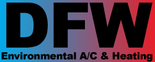 DFW Environmental A/C & Heating Logo