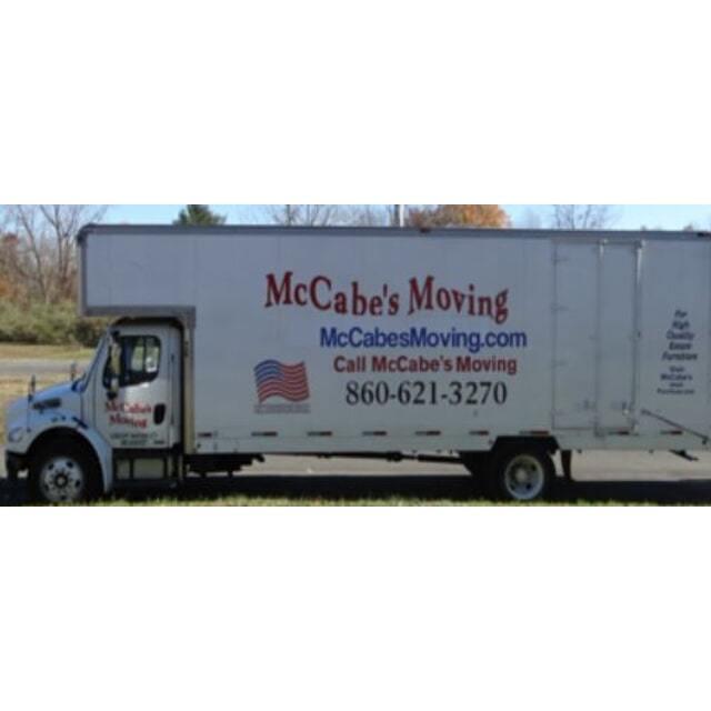 Mccabes Moving & Preparations LLC Logo