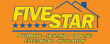 Five Star Plumbing Heating Cooling - HVAC Logo
