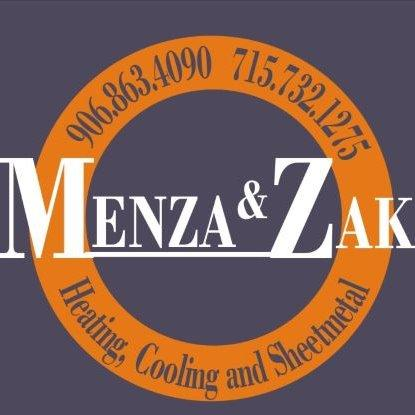Menza & Zak Heating, Cooling and Sheet Metal Logo