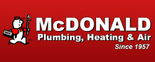 McDonald Plumbing, Heating & Air Logo