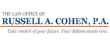 The Law Office of Russell A. Cohen, P.A.-Divorce/Criminal Logo